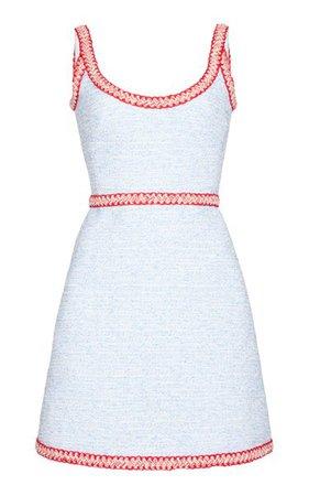 Boucle Mini Dress By Giambattista Valli | Moda Operandi