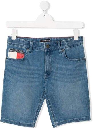 Junior TEEN branded denim shorts