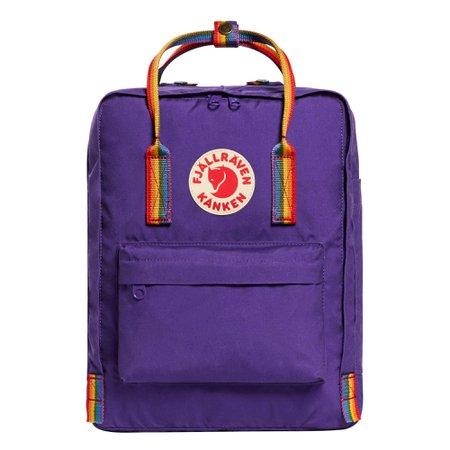 Amazon.com   Fjallraven, Kanken Classic Backpack for Everyday, Burnt Orange-Rainbow Pattern   Casual Daypacks
