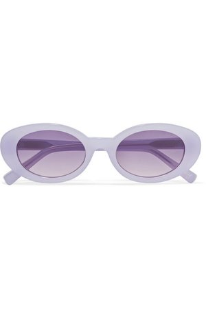 Elizabeth and James | McKinley oval-frame acetate sunglasses | NET-A-PORTER.COM