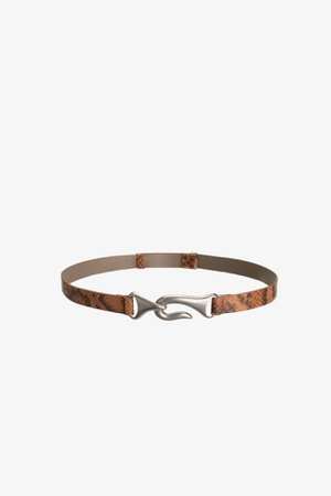 LEATHER BELT | ZARA United States