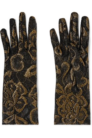 Gucci | Embroidered tulle gloves | NET-A-PORTER.COM