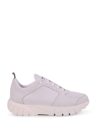Thom Browne White Running Shoes
