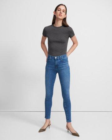 Maria High-Rise Skinny Jean in Comfort Stretch