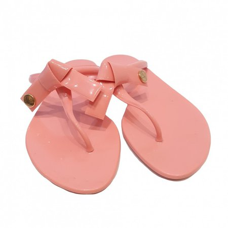 Pink Rubber Sandals
