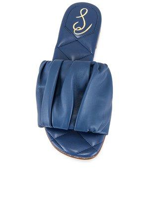 Sam Edelman Briar Sandal in Marlin Blue | REVOLVE