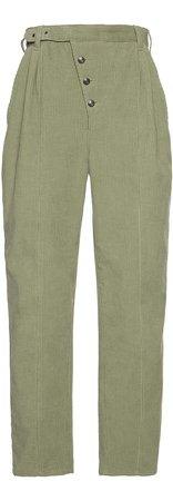 Etro Straight-Leg Corduroy Pants