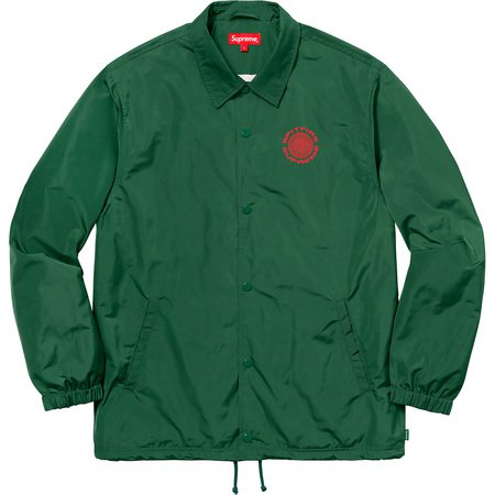 Supreme: Supreme®/Spitfire® Coaches Jacket - Dark Green