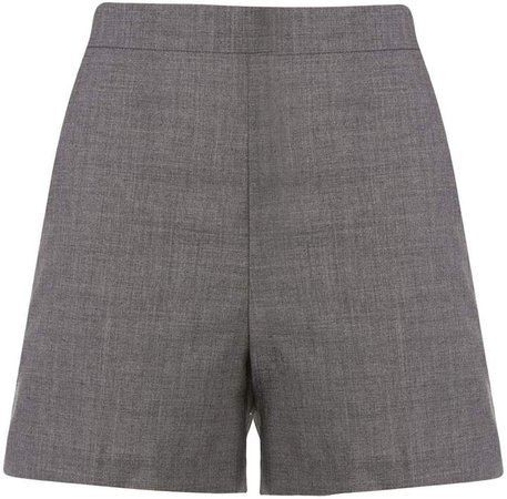 High-Waisted Tailored Shorts