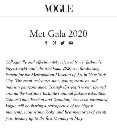 mets gala 2020 text