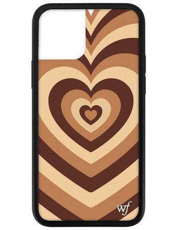Wildflower Latte Love iPhone 12 Pro Case – Wildflower Cases