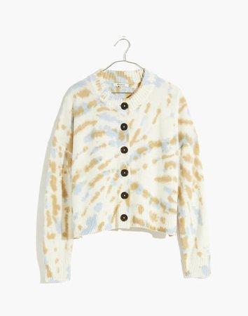 Tie-Dye Broadway Cardigan Sweater