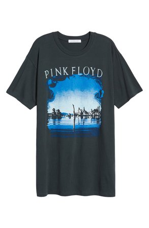 Daydreamer Pink Floyd Wish You Were Here Oversize Graphic Tee | Nordstrom