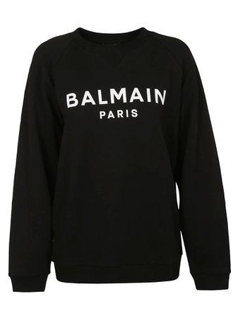 Balmain Oversized Logo Sweatshirt