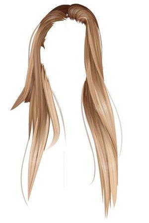 Ombre Hair Art
