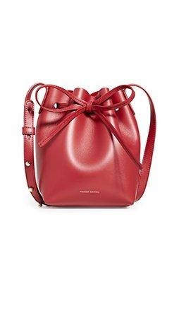 Mansur Gavriel Миниатюрная сумка-ведро | SHOPBOP