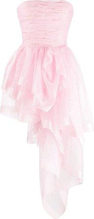 pink tulle asymmetrical mini skirt - Cerca con Google