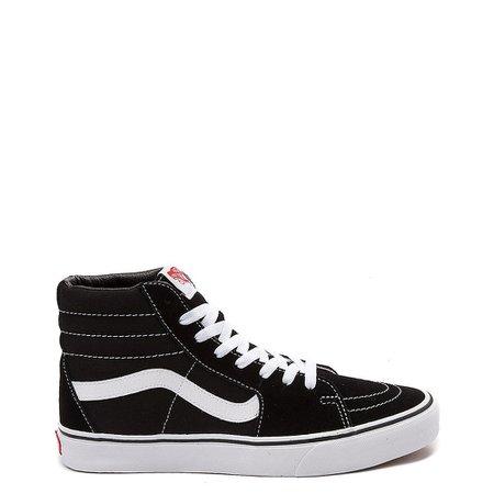 Vans Sk8 Hi Skate Shoe - Black / White | Journeys
