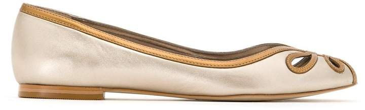 Sarah Chofakian leather ballerina shoes