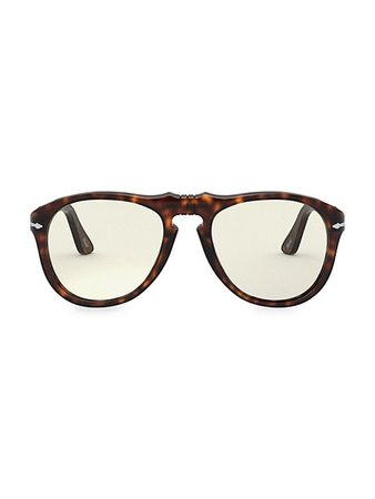 Persol 55MM Round Sunglasses   SaksFifthAvenue