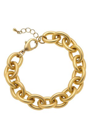 Canvas Jewelry Vera Chain Link Bracelet | Nordstrom