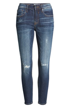 Vigoss Jagger Destruction Skinny Jeans | Nordstrom