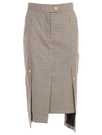 Eudon Choi Skirt Long Check
