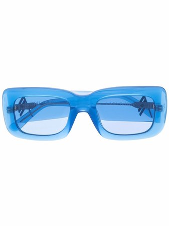 The Attico x Linda Farrow Marfa sunglasses - FARFETCH