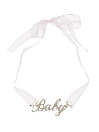 baby lace choker