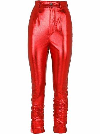 Dolce & Gabbana high-shine Skinny Trousers - Farfetch