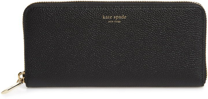 Margaux Leather Continental Wallet