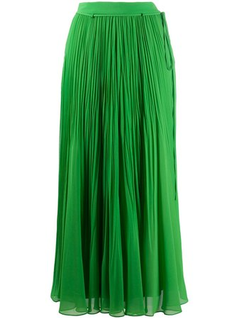 Irina Schrotter Pleated Maxi Skirt - Farfetch
