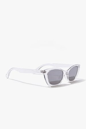 Transparent Cat-Eye Sunglasses | Forever 21