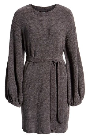 Something Navy Shimmer Sweater Dress (Nordstrom Exclusive) | Nordstrom