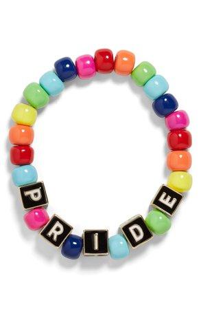 BaubleBar Pride Stretch Bracelet | Nordstrom