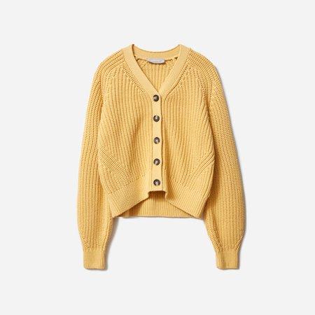 Women's Texture Cotton Cardigan | Everlane
