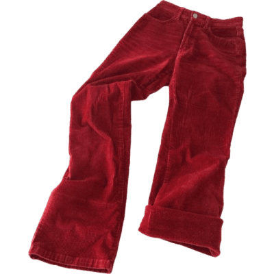 Red Pants Polyvore Moo #348624 - PNG Images - PNGio