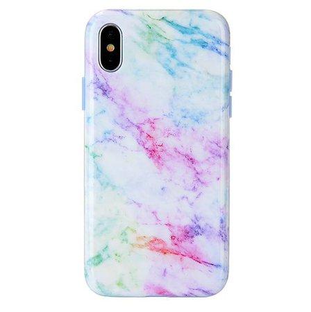 Pastel Rainbow Marble iPhone Case – VelvetCaviar.com