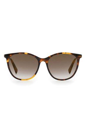 Levi's® 55mm Gradient Round Sunglasses | Nordstrom