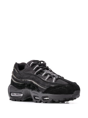 Nike X Comme Des Garcons Air Max 95 Sneakers CU8406001 Black | Farfetch