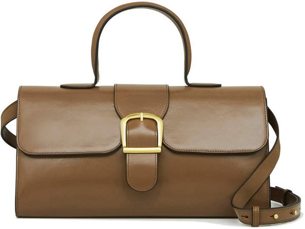 Rylan Large Satchel Leather Shoulder Bag