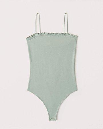 Women's Ruffle Trim Bodysuit | Women's New Arrivals | Abercrombie.com