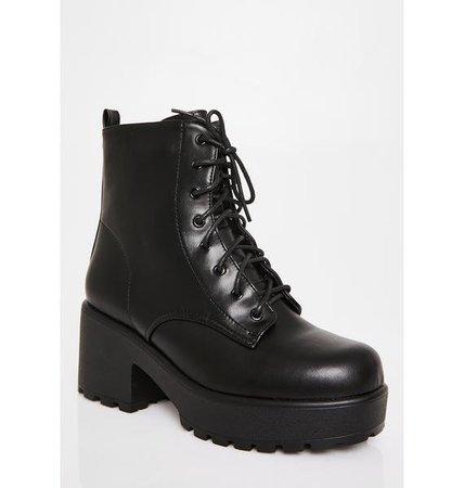 Koi Footwear Gin Platform Boots | Dolls Kill