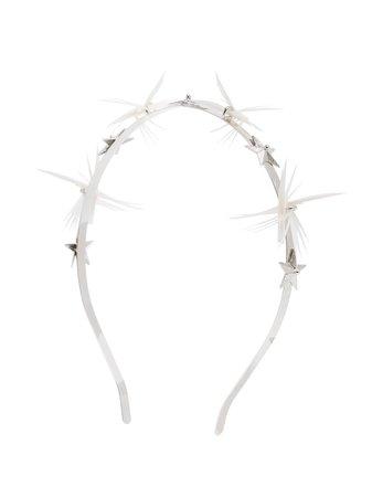Gigi Burris Millinery Dhalyn Star Feather Headband - Farfetch