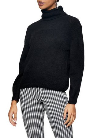Topshop Roll Crop Sweater | Nordstrom
