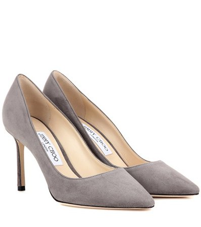 Exclusive to mytheresa.com - Romy 85 suede pumps