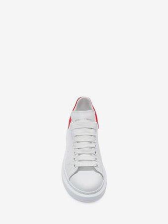 Women's Blazer Red  Oversized Sneaker  | Alexander McQueen