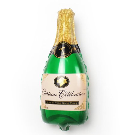 Champagne Bottle Balloon – Jollity & Co Party Boutique