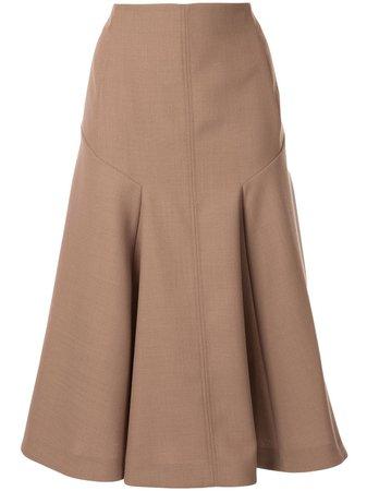 Joseph High-Waisted A-Line Skirt