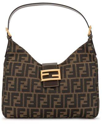 Pre Owned Zucca pattern Mamma Baguette shoulder bag